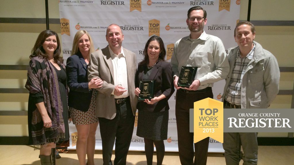 Zumasys Awarded #2 Top Workplace by OC Register
