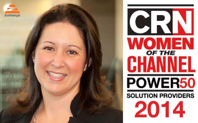 Zumasys COO Named to CRN Women of the Channel 2014