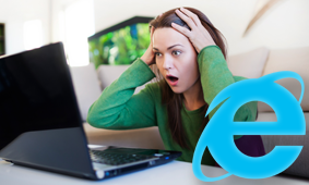 no support for ie